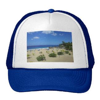 PLAYA ALCIA BEACH SOSUA DOMINICAN REPUBLIC SURF OC TRUCKER HAT