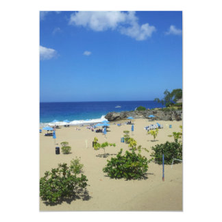 PLAYA ALCIA BEACH SOSUA DOMINICAN REPUBLIC SURF OC PERSONALIZED ANNOUNCEMENTS