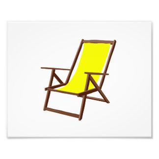 playa amarilla chair.png de la tela fotografía