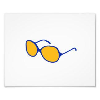 playa anaranjada glasses.png de la lente del marco fotografía