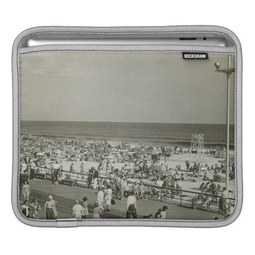 Playa apretada mangas de iPad