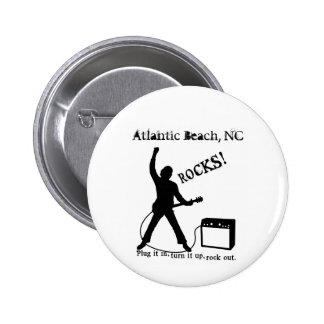 Playa atlántica, NC Pin Redondo 5 Cm