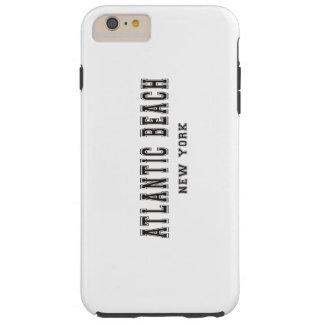 Playa atlántica Nueva York Funda Para iPhone 6 Plus Tough