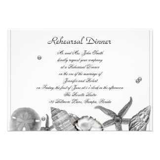 Playa atractiva en ensayo de la bodas de plata comunicados personalizados