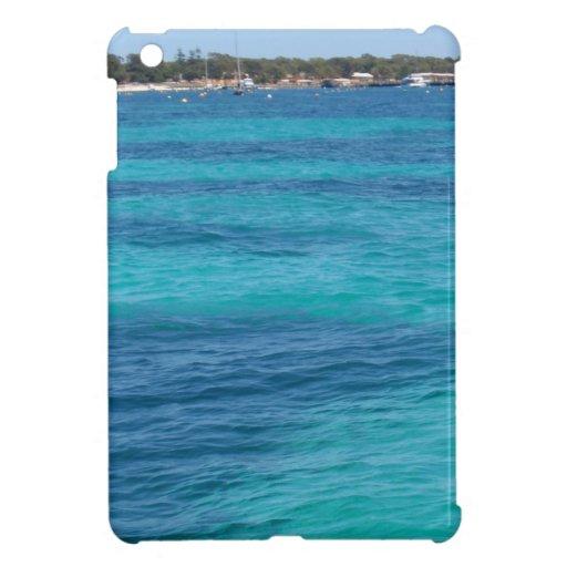 Playa azul hermosa