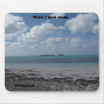 Playa bahamesa tapete de ratón