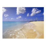 Playa baja de la bahía, Barbuda, Antigua Postal
