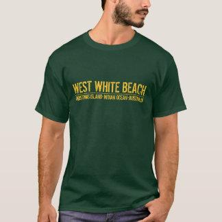 Playa blanca del oeste - Isla de Navidad Playera