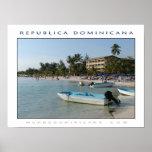 Playa Boca Chica Póster