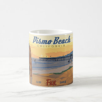 Playa Califorina de Pismo Taza De Café