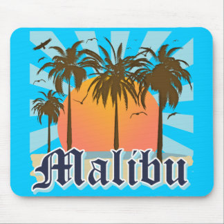 Playa California CA de Malibu Mousepad