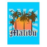 Playa California CA de Malibu Tarjeta Postal