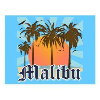 Playa California CA de Malibu Tarjetas Postales