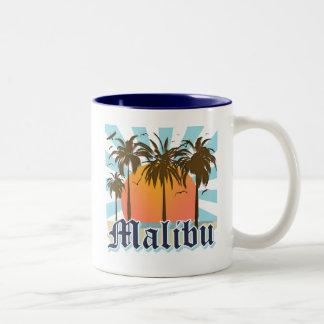 Playa California CA de Malibu Tazas