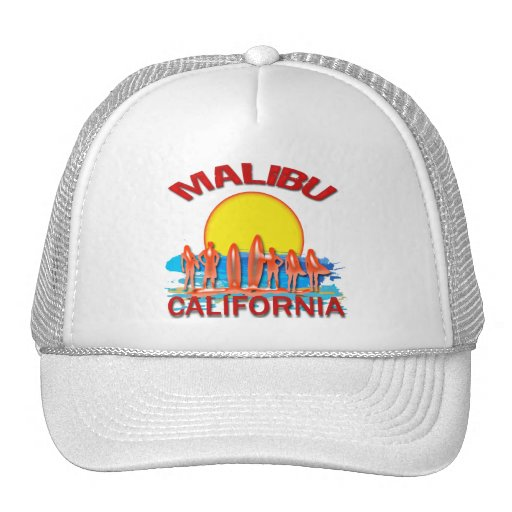 PLAYA CALIFORNIA DE MALIBU GORROS