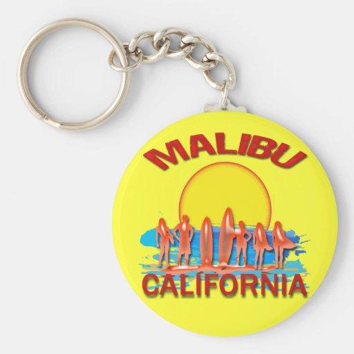 PLAYA CALIFORNIA DE MALIBU LLAVEROS PERSONALIZADOS