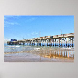 Playa California de Newport Impresiones