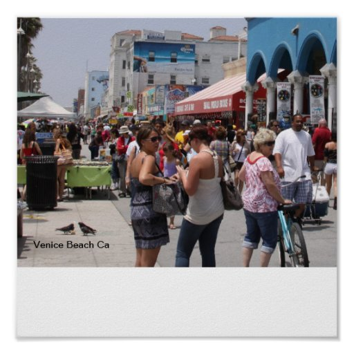 Playa California de Venecia Posters