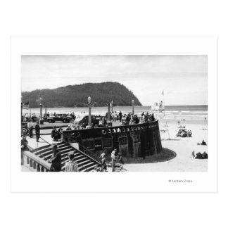 Playa cambio de Oregon y cabeza de Tillamook Postal