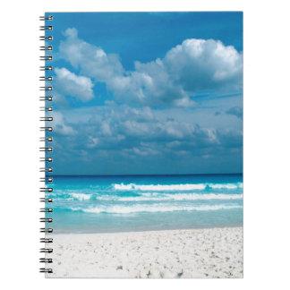 Playa Caribbeanbeach Libro De Apuntes