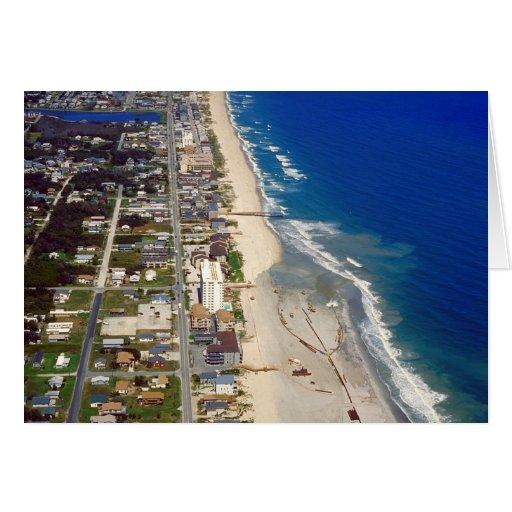 Playa Carolina del Norte de Kure Tarjeta