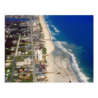 Playa Carolina del Norte de Kure Tarjeta Postal