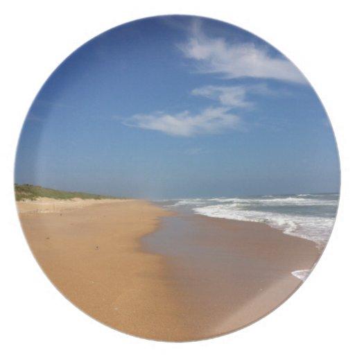 Playa central de la Florida Plato Para Fiesta