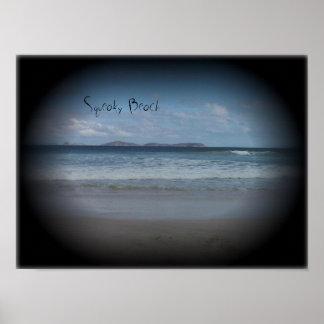 Playa chillona 1 póster