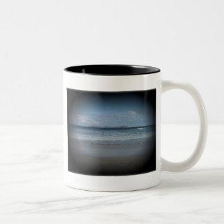 Playa chillona 1 taza de dos tonos