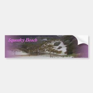 Playa chillona 2 etiqueta de parachoque