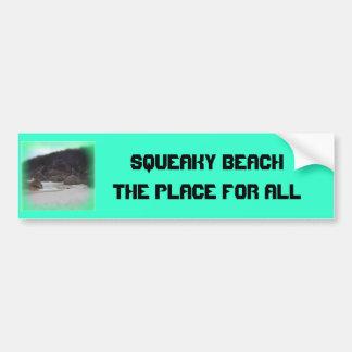 Playa chillona 3 pegatina de parachoque