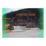 Playa chillona 3 tarjeta de visita