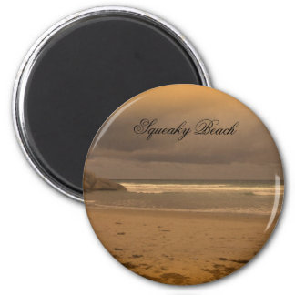 Playa chillona 5 imán redondo 5 cm
