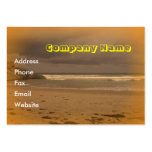 Playa chillona 5 tarjetas de visita