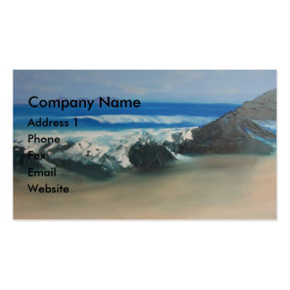 Playa chillona tarjetas de visita