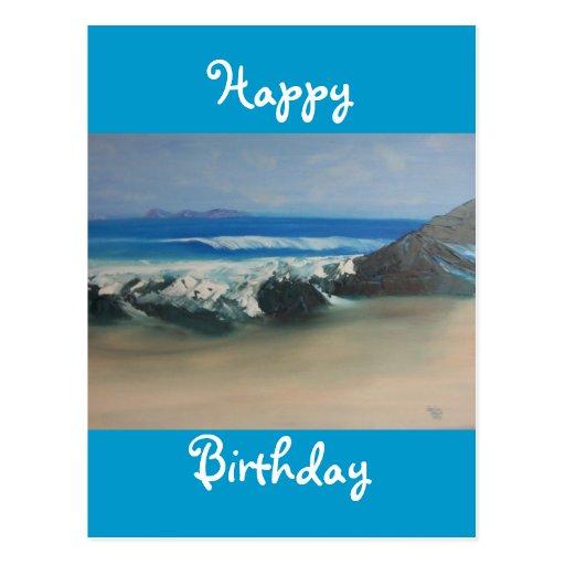 Playa chillona tarjetas postales