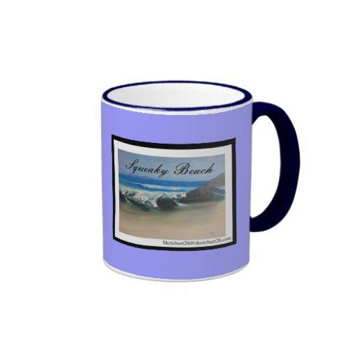 Playa chillona tazas de café