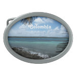 Playa colombiana hebillas de cinturon ovales