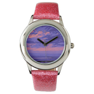 Playa, colores alterados 02 relojes de mano