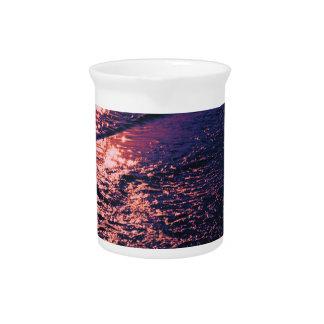 Playa colores alterados 04 jarrón
