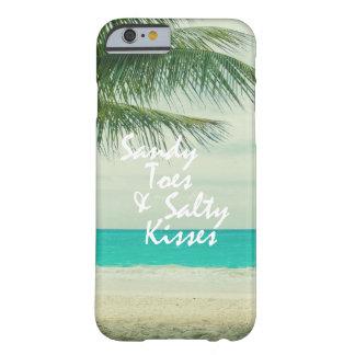 Playa con cita funda para iPhone 6 barely there