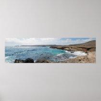 Playa Conchi Natural Bridge Poster