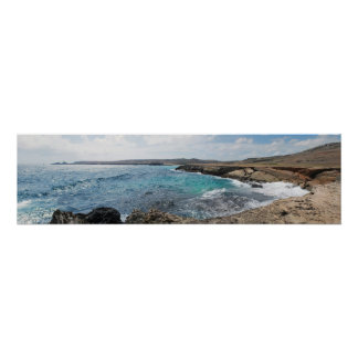 Playa Conchi & Natural Bridge Poster