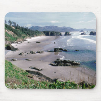 Playa creciente tapete de raton