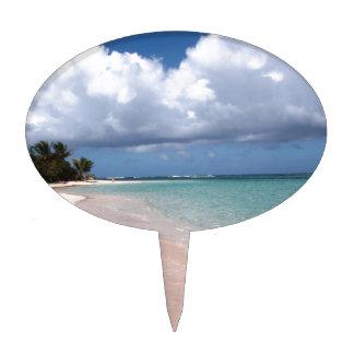 Playa Culebra del flamenco Decoración Para Tarta