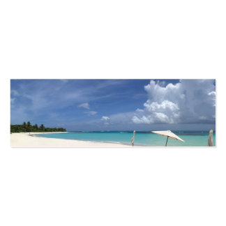Playa Culebra Puerto Rico del flamenco Tarjetas De Visita Mini