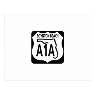 Playa de A1A Boynton Postales