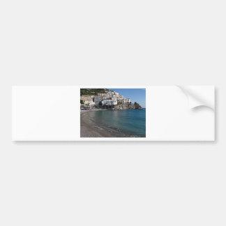Playa de Amalfi Pegatina Para Auto