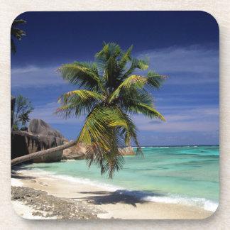 Playa de Anse Sourse D'Argent, La Digue Posavasos De Bebida