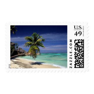 Playa de Anse Sourse D'Argent, La Digue Timbres Postales